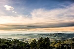 Fotografia del paisaje en los alrededores de Artés y Sierra de Montcogul, provincia de Barcelona, Catalunya