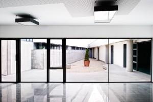 Fotografía de arquitectura del Centro Cultural Carrús, Elche. Cliente: Fuster Arquitectos. Promotor: Ayto de Elche y Consellería de Cultura.