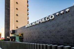 Fotografía de arquitectura & Interiorismo del Hotel Acapulco (Benidorm), para el estudio Acdeco. Cliente: Agencia de publicidad Dimarco.