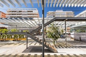Fotografía de arquitectura del Paseo Marítimo Adolfo Suárez en Santa Pola. Cliente: Fuster Arquitectos. Promotor: Consellería d'Infraestructures, Territori i Medi Ambient.