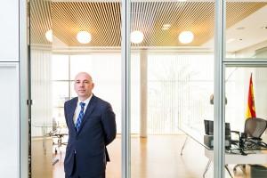 Retrato corporativo del Director General de Agromediterránea. Cliente: Agromediterránea.