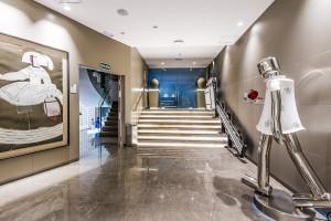 Fotografía de arquitectura e interiorismo de las instalaciones de Ascensores Domingo. Cliente: Compañia Creativa Kanbei