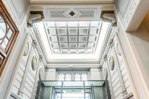 Fotografía de arquitectura e interiorismo del Hotel Intur Palacio de San Martín en Madrid. Cliente: Agencia WAM Cliente final: Intur Hoteles