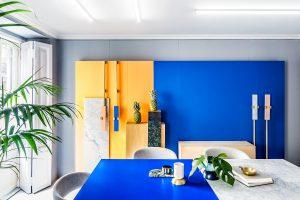 Fotografía de arquitectura e interiorismo de las instalaciones del estudio creativo Masquespacio. Cliente: Estudio creativo Masquespacio