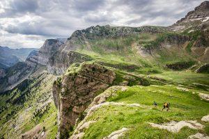 Reportaje de trailrunning del Pirineos FIT. Valle rio Seta y Llanos de Tortiellas