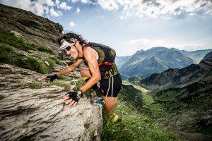 Depa en el trailrunning de Pirineos FIT. Valle rio Seta, Huesca.