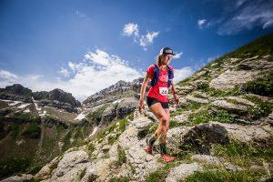 Hillary Allen en el trailrunning de Pirineos FIT. Macizo de Aspe