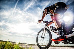 Sesión de fotos del triatleta Emilio Aguayo para la revista Sense Limits.