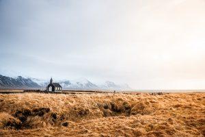 Fotografia de paisaje en Búðir en la peninsula Snæfellsnes (region de Vesturland, Islandia)