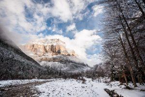 Fotografía de paisaje pirenaico en el Parque Nacional de Ordesa y Monte Perdido, Huesca (Aragón)