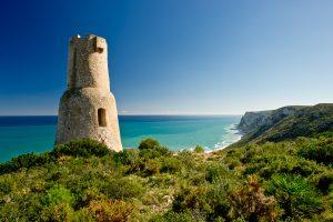 Torre Gerro en el Parque natural del Montgo, provincia de Alicante.