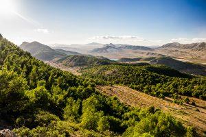 Sierra de Crevillente, provincia de Alicante.