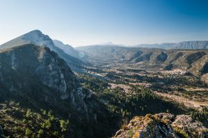Vall de la Gallinera, provincia de Alicante.