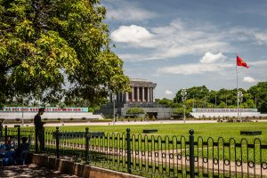 Mausoleo de Ho-Chi-Minh en Hanoi, Vietnam