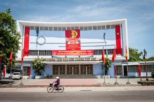 Teatro Tran Hung Dao en Hue (provincia Thua Thien-Hue, Vietnam)