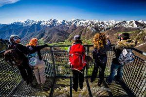 Mirador del Cable de Fuente Dé en Picos de Europa, Cantabria