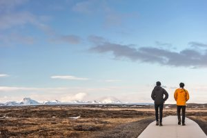 Cadena montañosa de Jarlhettur en la region de Suðurland, Islandia